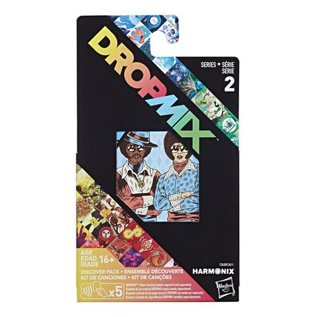 Série 2 complète - Emballage d'Ensembles découverte DropMix de 30 cartes - image 1 de 7