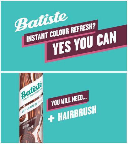 Batiste Plus Divine Dark Dry Shampoo - image 3 of 5