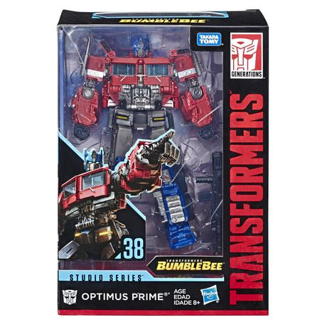 Transformers Studio Series OPTIMUS PRIME #38 Bumblebee Movie Voyager Class