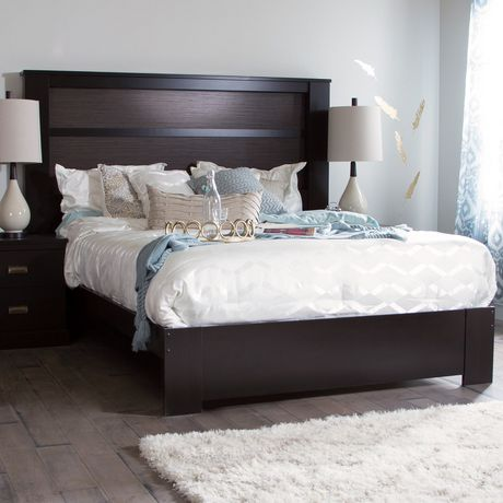 South shore gloria king headboard 78 with lights for South shore bedroom set walmart