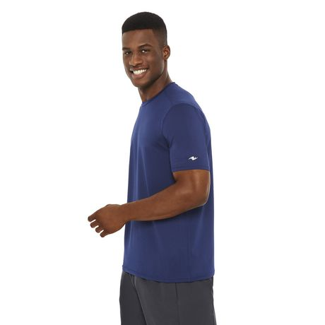 Athletic Works Men's Textured Stretch Tee - image 2 of 6