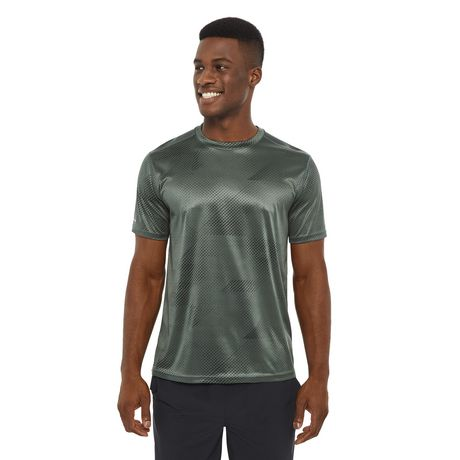 athletic works men's all over print tee | walmart canada