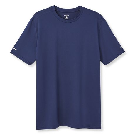 Athletic Works Men's Textured Stretch Tee - image 6 of 6