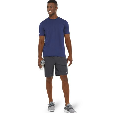 Athletic Works Men's Textured Stretch Tee - image 5 of 6