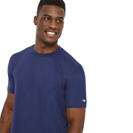 Athletic Works Men's Textured Stretch Tee - image 4 of 6