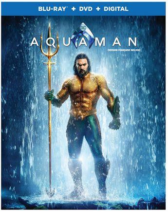 Aquaman (Blu-ray + DVD + Digital) (Bilingual) - image 1 de 1
