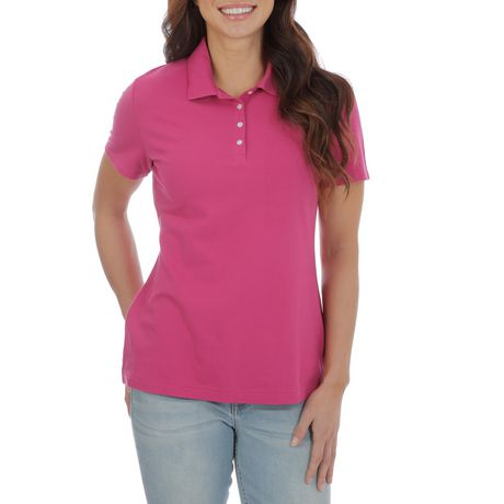 Lee Riders Short Sleeve Knit Polo Shirt - image 1 of 2