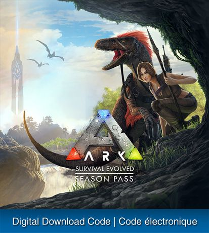 PS4 ARK SURVIVAL EVOLVED SEASON PASS Digital Download