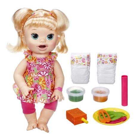 Baby Alive Super Snacks Snackin' Sara Blonde - image 1 of 1