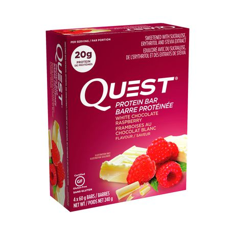 Quest White Chocolate Raspberry - image 1 of 1