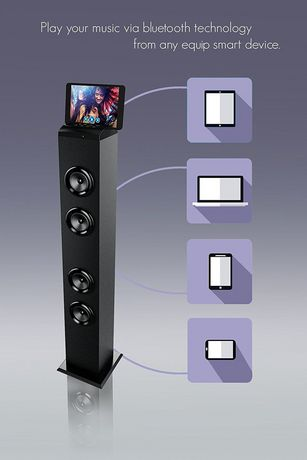 Westinghouse Bluetooth Tower Speaker - image 3 of 4