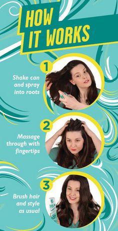 Batiste Beautiful Brunette Dry Shampoo Plus Shampoo - image 2 of 6