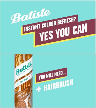 Batiste Beautiful Brunette Dry Shampoo Plus Shampoo - image 5 of 6