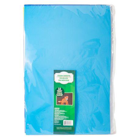 Assorted Foam Sheets