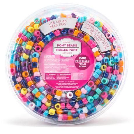 Bright Pony Beads Tub - image 1 of 1