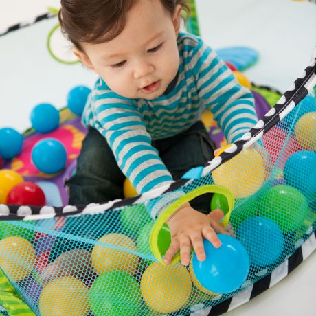 Infantino Grow With Me Activity Gym And Ball Pit Walmart