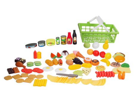 Ens. jeu d'aliments kid connection - image 1 de 2