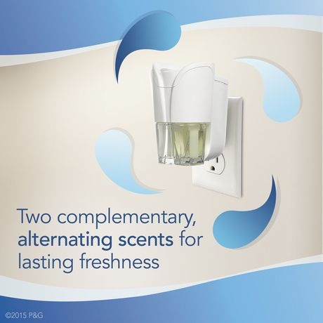 Febreze NOTICEables Fresh Sky Dual Oil Refills Air Freshener - image 4 of 7