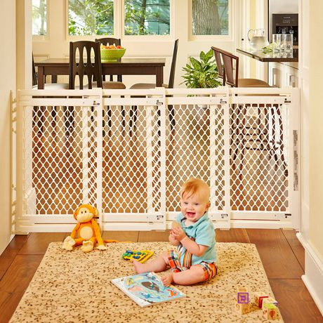 North States Extra Wide Baby Gate Ivory Walmart Canada