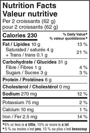 Your Fresh Market Mini Plain Croissant - image 4 of 4