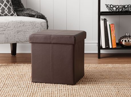 Foldable Storage Ottoman   Image 1 Of 2 ...