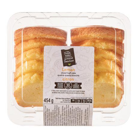 Your Fresh Market Lemon Sliced Loaf Cake - image 2 of 4