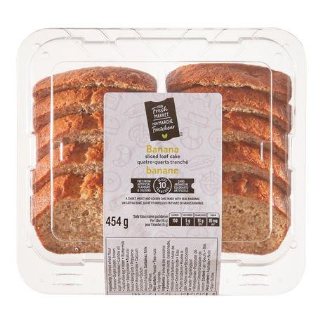 Your Fresh Market Banana Sliced Loaf Cake - image 2 of 4