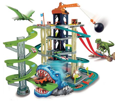 Adventure Force Ultimate Dino City Garage - image 1 of 9