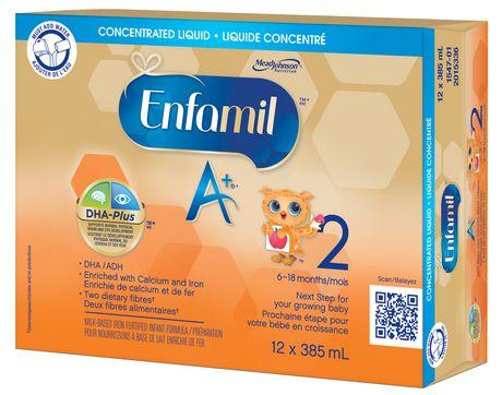 Préparation pour nourrissons Enfamil A+® 2 liquide concentratré - image 2 de 5