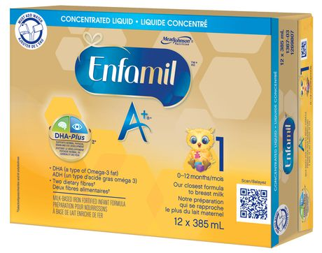 Enfamil A+® Baby Formula, Concentrated Liquid Cans - image 2 of 5