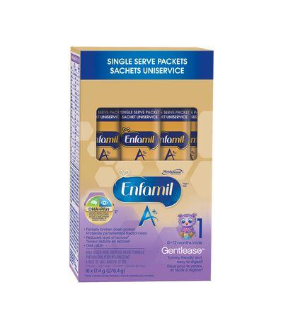 Enfamil A+ Gentlease® Baby Formula, Single Serve Powder - image 2 of 5