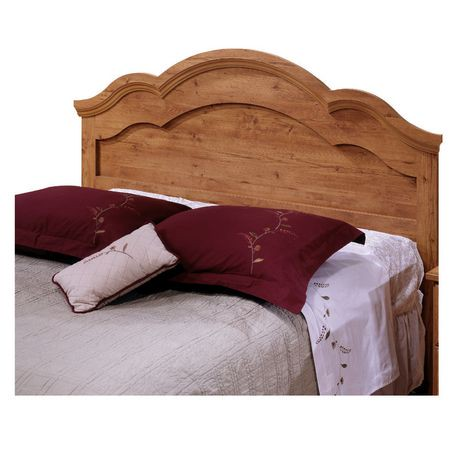 south shore prairie collection full/queen country pine headboard, Headboard designs