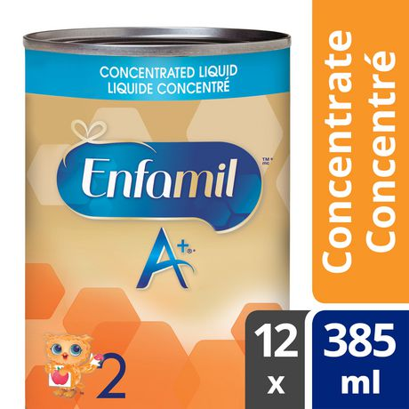 Enfamil A+ 2 Baby Formula, Concentrated Liquid