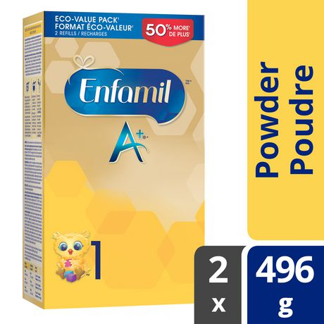Enfamil A+® Baby Formula, Powder Refill - image 1 of 4