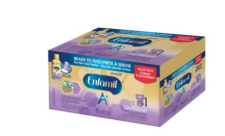 Enfamil A+ Gentlease® Baby Formula, Ready to Feed Bottles - image 2 of 5