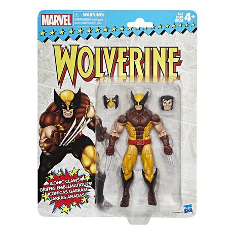 Marvel - Collection rétro - Figurine Wolverine de 15 cm - image 1 de 2