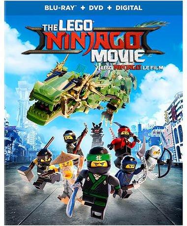the lego ninjago movie blu ray dvd digital bilingual walmart canada - Lego Ninja Go