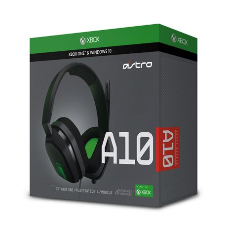 Astro A10 Over-Ear Sound Isolating Gaming Headset for Xbox - Grey/Green - image 1 of 5
