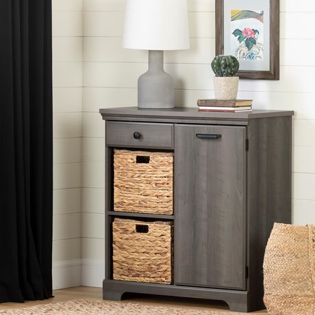 South Shore Versa 1-Door Storage Cabinet - image 1 of 9