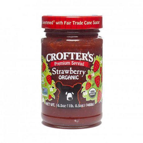 Crofter's aux fruits justes à tartiner aux fraises - image 1 de 1
