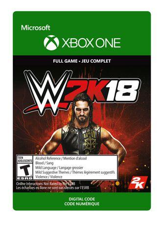 Xbox One WWE 2K18 Digital Download - image 1 of 1