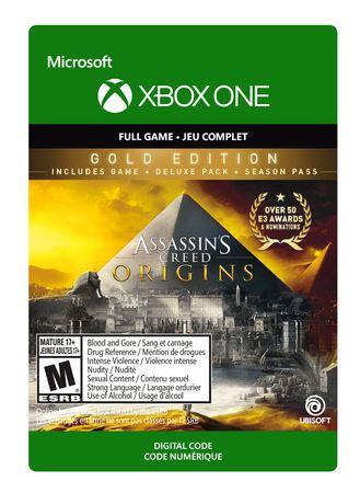 Xbox One Assassin's Creed Origins: Gold Edition Digital Download - image 1 de 1