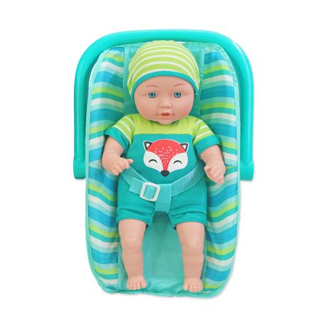 8afbe4ec131 My Sweet Baby Teal Baby Doll with Carrier - image 1 of 1 ...