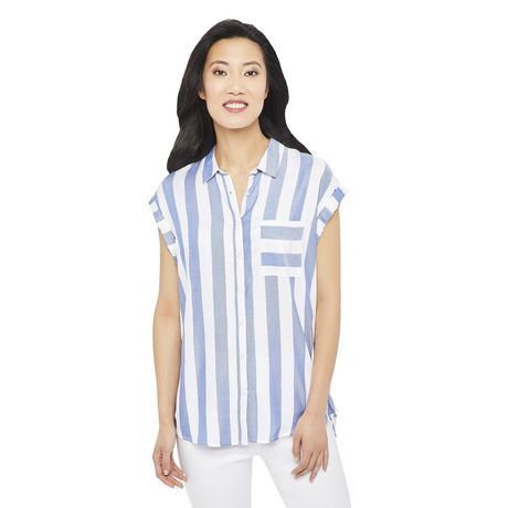 George Women's Dolman Sleeve Pocket Shirt - image 1 of 6