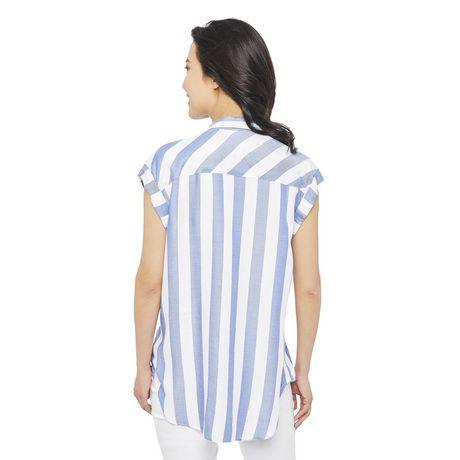George Women's Dolman Sleeve Pocket Shirt - image 3 of 6