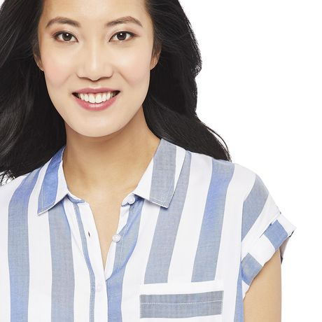 George Women's Dolman Sleeve Pocket Shirt - image 4 of 6