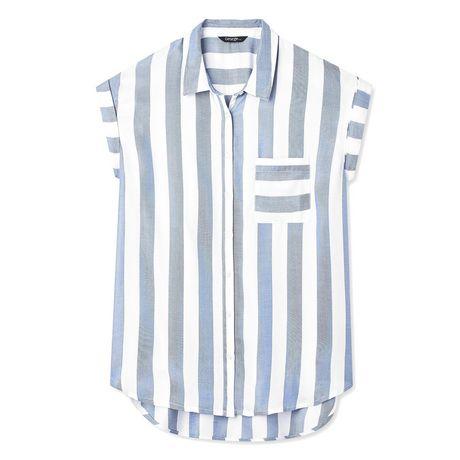 George Women's Dolman Sleeve Pocket Shirt - image 6 of 6