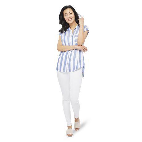 George Women's Dolman Sleeve Pocket Shirt - image 5 of 6