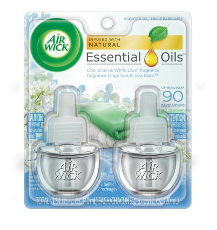 Air Wick® Scented Oil Linen And Lilac Air Freshener ...