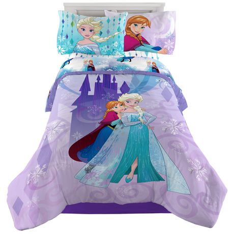 Disney Frozen Snowflakes & Diamonds Twin/Full Reversible Comforter - image 1 of 1